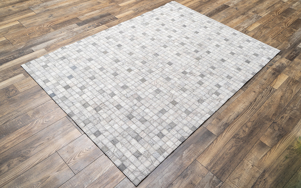 Costera Light Grey Leather Carpet