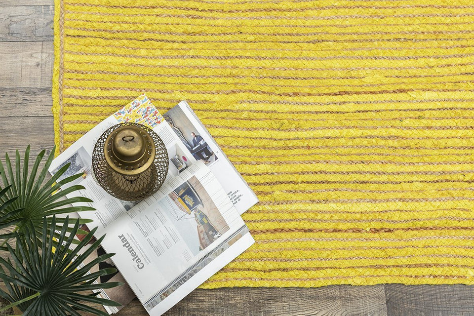Jamila Sunburst Baided Rug Durrie