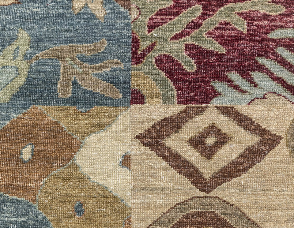 Luxury - Tikal Multy New Zealand Wool Hand Knotted Premium Carpet
