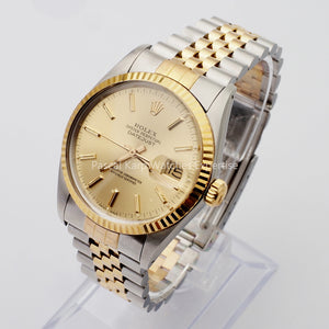 Rolex Oyster Perpetual Datejust Or/Acier réf : 16013 -1986-
