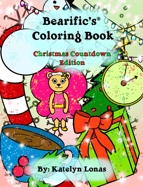 Bearific's® Coloring Book: Christmas Countdown Edition