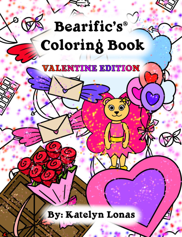 Bearific's® Coloring Book: Valentine Edition