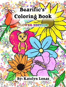 Bearific's® Coloring Book: Flower Edition