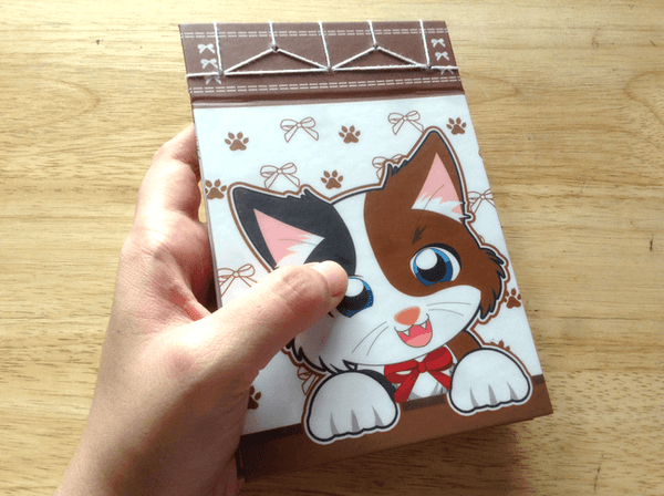 Personalized Cat Notepad/Journal