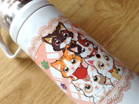 Cat Thermos