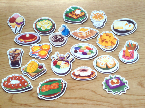 Filipino Food Stickers