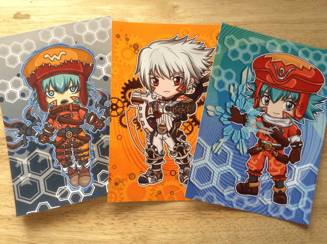 hack Prints (Kite, Azure Kite, Haseo)