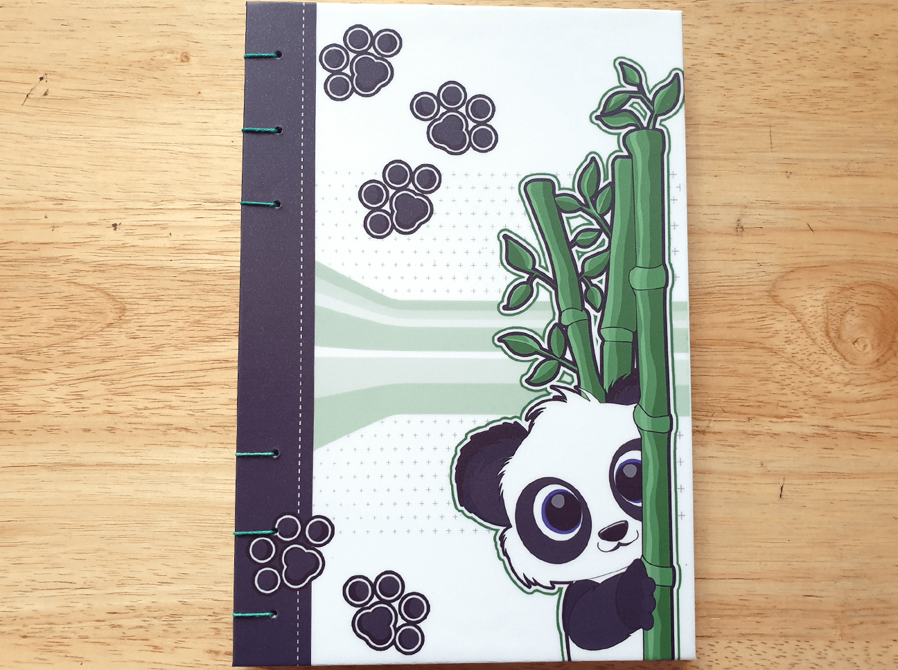 Panda Bamboo Journal
