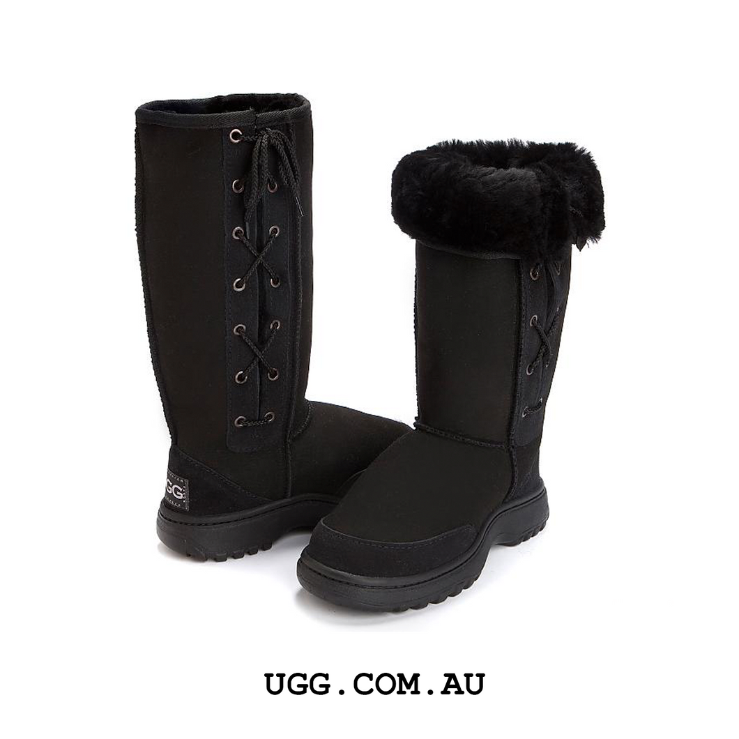 Hiking Tall Lace-up Ugg Boots