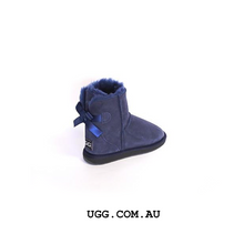 Load image into Gallery viewer, Bella Bow Mini Ugg Boots