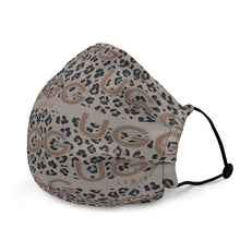 Load image into Gallery viewer, UGG.com.au Leopard Premium Face Mask - Light