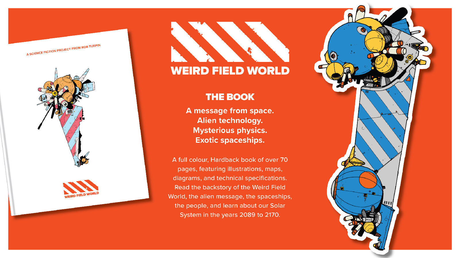 Weird Field World Kickstarter campaign