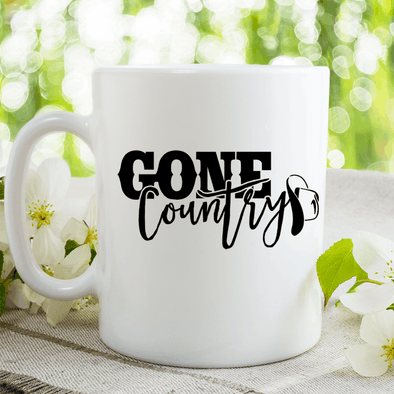 Gone Country Mug Mug TeeInBlue