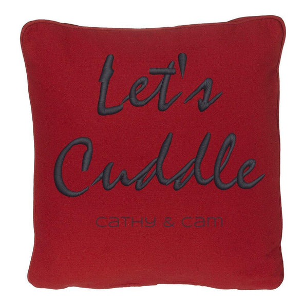 Let's Cuddle Customizer TeeInBlue