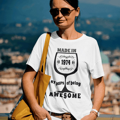 Made in Birthday Apparel Apparel TeeInBlue