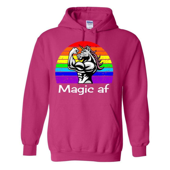Unicorn Magic AF Apparel Apparel TeeInBlue