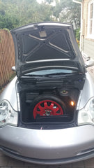 Porsche Spare Tire Cover - Lid Liner Corp.