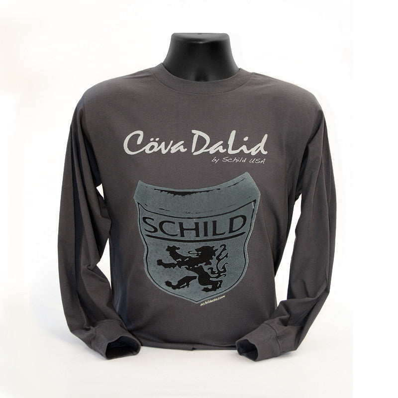 Schild Warped Long Sleeve T-Shirt - Lid Liner Corp.
