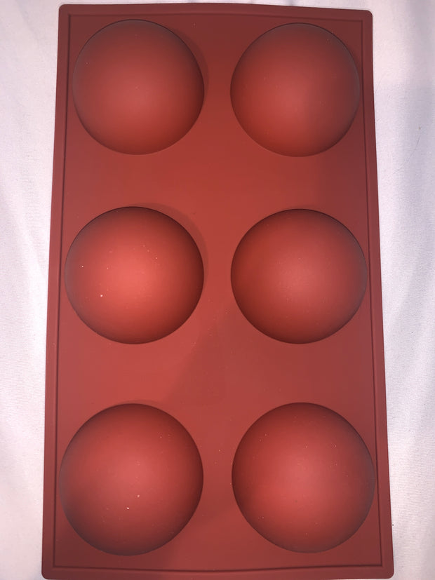 Silicone Mold for Hot Chocolate Bombs
