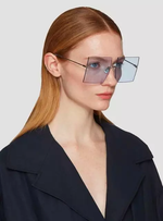 Load image into Gallery viewer, OVERSIZED RIMLESS FASHION SUNGLASSES