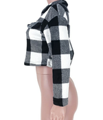 Load image into Gallery viewer, THICK DOUBLE FLEECE SHORT COAT