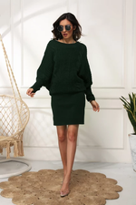 Load image into Gallery viewer, OVERSIZED PULLOVER SWEATER DRESS