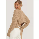 Load image into Gallery viewer, Backless sweater
