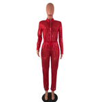 Load image into Gallery viewer, SEQUINS NIGHTOUT ZIPPER JUMPSUIT