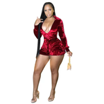 Load image into Gallery viewer, VELVET ONE PIECE ROMPER