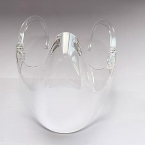 PLASTIC HALF FACE SHIELD MASK