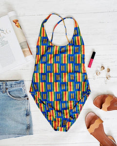 ONE PIECE SWIMWEAR & COVER UP SET
