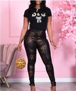 Load image into Gallery viewer, SNAKESKIN PRINT HIGH WAIST SKINNY PANTS