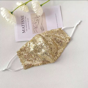 BLING SEQUINS FASHION MASK