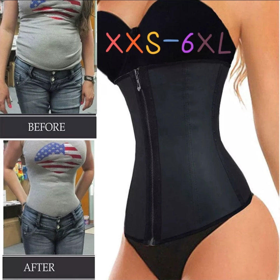 LATEX CORSET WAIST TRAINER