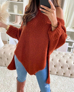 Off shoulders sweaters