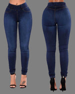 Load image into Gallery viewer, HIGH WAIST FITTED STRETCHY JEANS