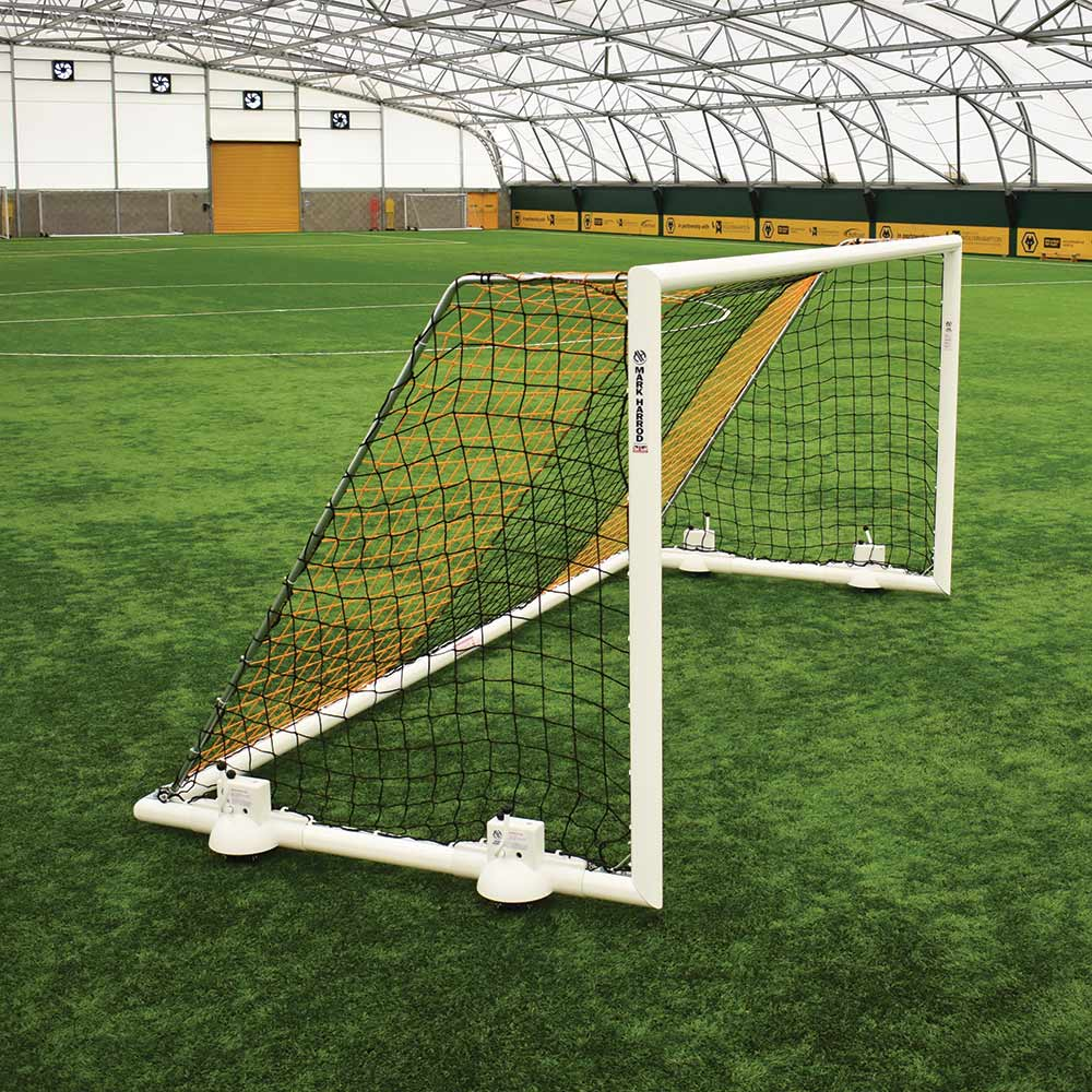DEVOSHIFT PORTABLE ALUMINIUM 16 X 7 FOOTBALL GOAL PACKAGE (Pair)