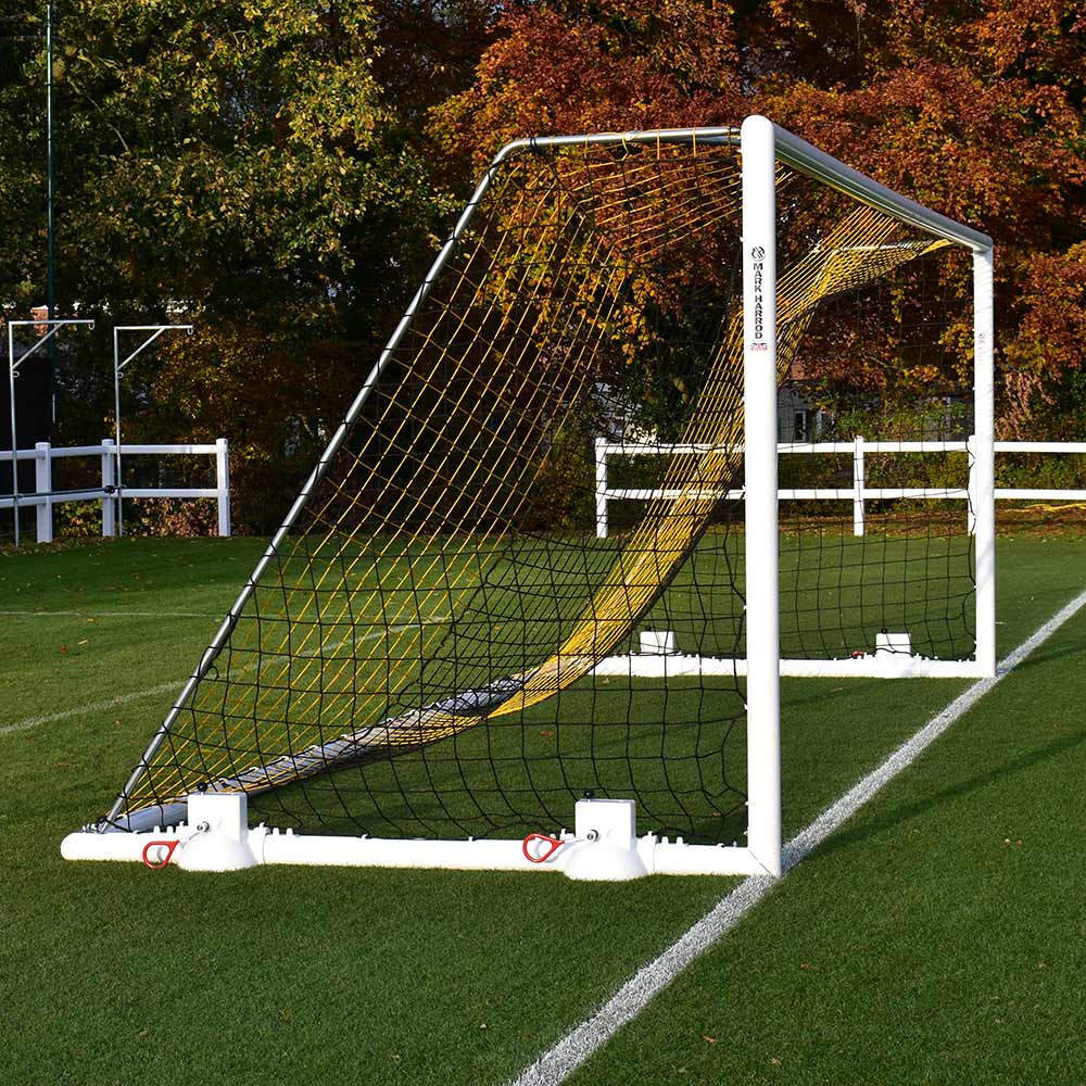 DEVOSHIFT PORTABLE ALUMINIUM 24 X 8 FOOTBALL GOAL PACKAGE (Pair)
