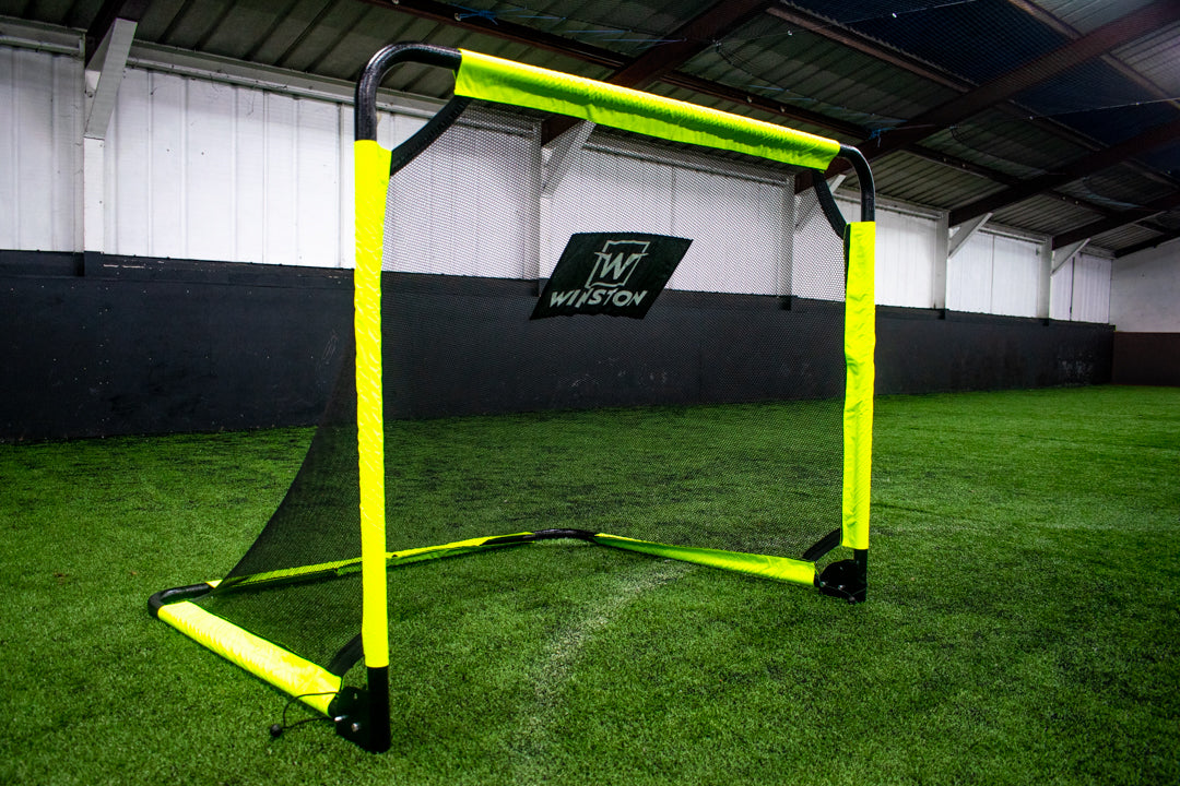 Winston 5ft x 4ft Foldable Aluminium Football Goal