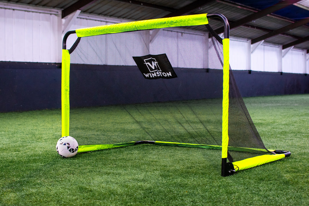 Winston 6ft x 4ft Foldable Aluminium Football Goal