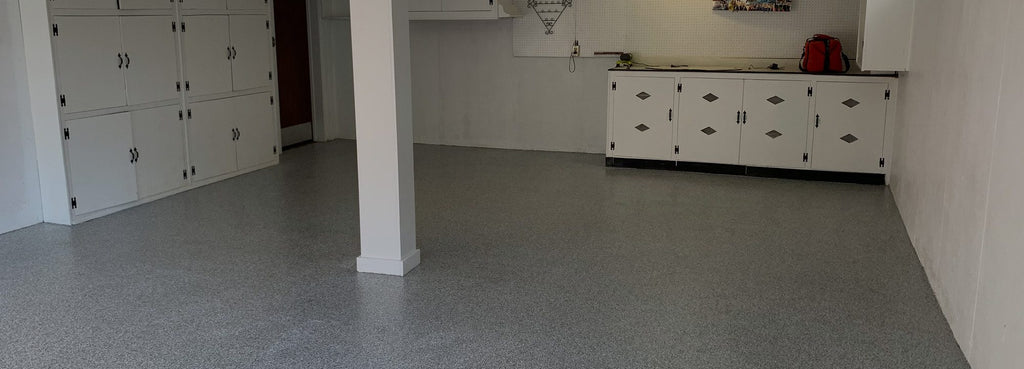 This is a Flake Garage Floor