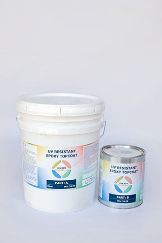 UV Resistant Epoxy Top Coat