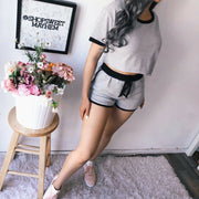 Homewear Style Shirt and Short Set