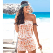 Off The Shoulder Tube Top Romper