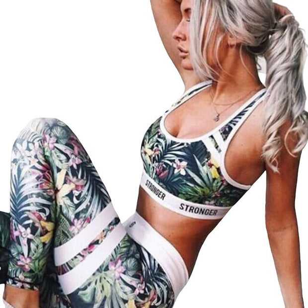 Cami Top + High Waist Pants Sport Suit
