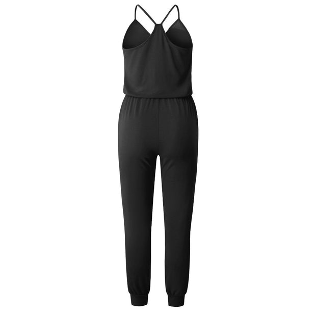 Summer Holiday Backless Jumpsuit