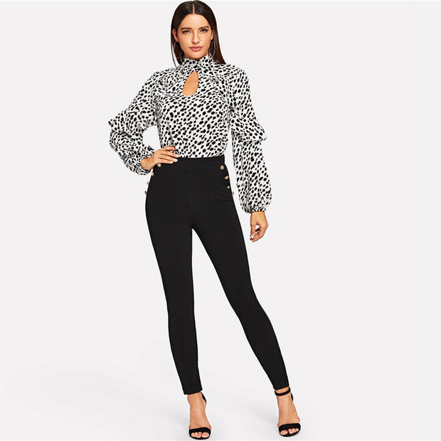 Designer Classy Businesslady Office Pants