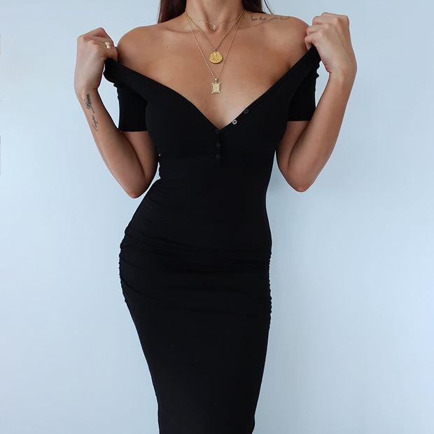 Stretchy Elastic Elegant Dress