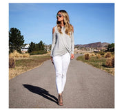 Stretch Cotton Aesthetic Skinny Jeans