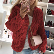 Simple Knitted Cross-Border Sweater